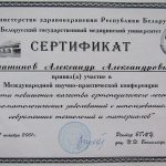 Сертификат 13 - Ематинов Александр Александрович