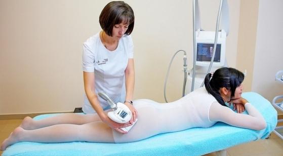 Антицеллюлитный массаж аппаратом