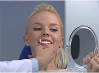 Завершение процедуры отбеливания зубов Beyond
