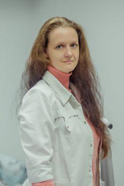 Врач 1-й квалификационной категории Глушкова Анастасия Анатольевна