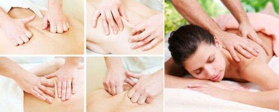 Процесс классического массажа
