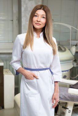 Врач-косметолог 1-й квалификационной категории Ковалева Светлана Анатольевна