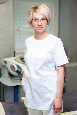 Медицинская сестра косметологического кабинета 1-й квалификационной категории Метто Наталья Ивановна