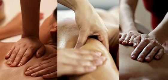 Процесс расслабляющего массажа