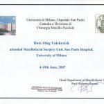 Сертификат 6 - Яцкевич Олег Степанович