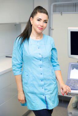 Медицинская сестра гинекологического кабинета Кабировская Елена Чеславовна